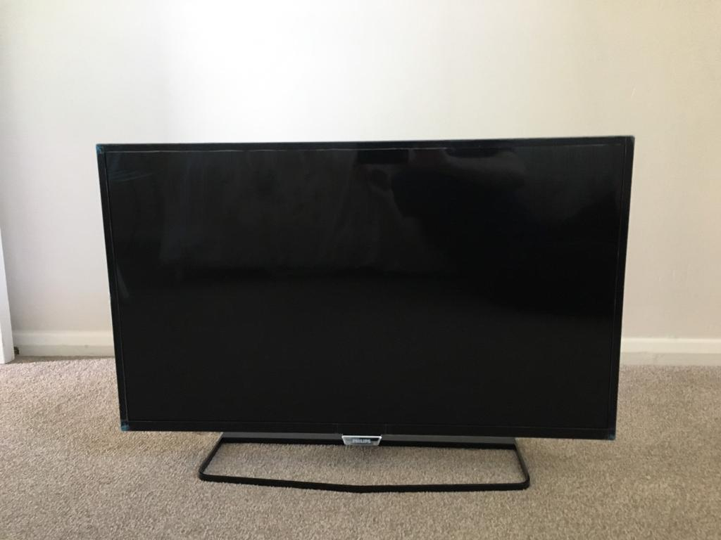 """PHILIPS 32"""" Full HD Slim LED Smart TV powered by Android"""