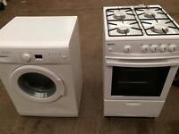 Beko washing machine & gas cooker
