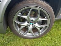 "BMW X5 E70 Alloys wheels 20"" set of 3"