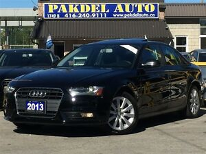 2013 Audi A4 2.0T PREMUIM PKG*AWD*B-TOOTH*XENON LED LIGHT*