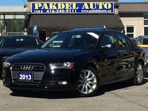 2013 Audi A4 2.0T PREMUIM PKG*AWD*B-TOOTH*XENON LED LIGHT*