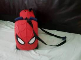 Spider man pull along / ride on suitcase