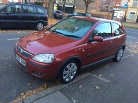 AUTOMATIC, VAUXHALL CORSA, RED, 1.2.