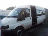 FORD TRANSIT 350 CREW VAN 52 REG REAR SEATS APRIL TEST BIRTLEY CAR SALES DH3 1PR