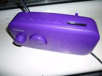 Goodmans DAB Digital Radio with FM - as new - mains / battery powered