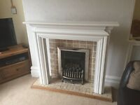 Gas fire, used but in good, fully working condition