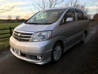 Toyota Alphard AS 58,374 Miles 2.4 7 Seater High Spec Sports Styling