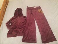 BRAND NEW JUICY COUTURE DESIGNER TRACKSUIT SIZE L