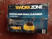 Patio and Wall Cleaner Washer Attachment