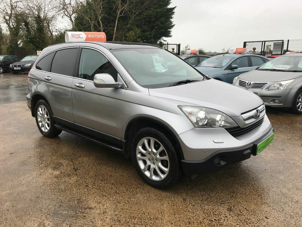 2009 Honda CRV 2.2 i CDTI Diesel EX **FINANCE AND WARRANTY** (rav4,qashqai,tuscon)