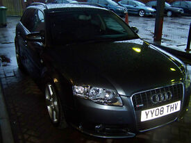 2008 08 AUDI AVANT SPORTLINE TDI FSH NEW TIMING BELT WATERPUMP IMMACULATE £6495