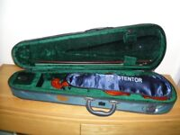 3/4 Stentor violin -complete with case and bow