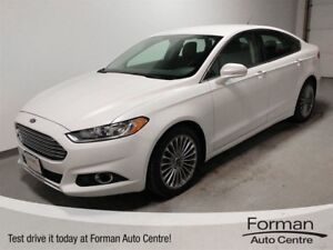 2013 Ford Fusion Titanium - AWD Remote start | Htd. Leather Seat
