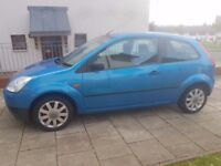 Blue ford fiesta finesse 04