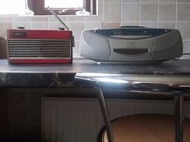 Two Roberts Radios one electric one battery operated