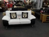 2 seater sofa leather BHF Glasgow