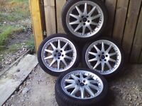 "ford 18"" alloy wheels and tyres"