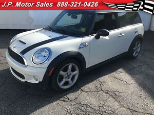 2009 MINI Cooper Clubman S, Manual, Leather, Sunroof,