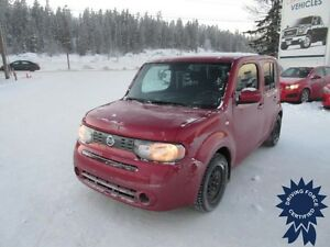 2010 Nissan Cube 1.8 S, Heated Mirrors, Aux Power, 91,467 KMs