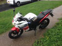 Honda cbr 125 new shape 1 owner