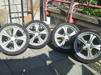 "18"" BMW Alloy Wheels - 5x120 stud pattern"