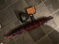 Ferret loctor lamp and 10 yard long net 7 hemp nets