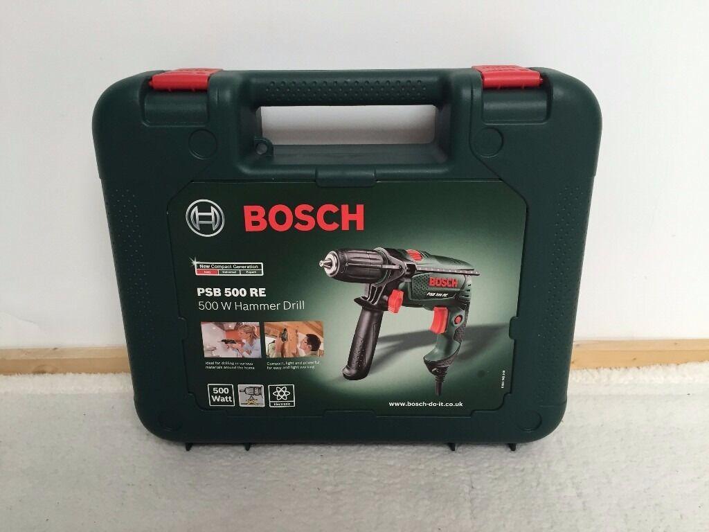 brand new bosch psb 500re hammer drill | in kingston, london | gumtree
