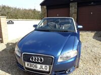 SPARES OR REPAIRS AUDI A 4 CONVERTIBLE 1.8T SPORT MANUAL LOVELY CONDITION