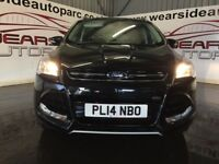 FORD KUGA 2.0 TDCi Titanium Station Wagon Powershift 4x4 5dr Auto (black) 2014