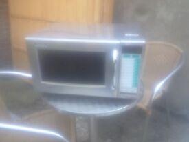 Sharp 1000w microwave for sale