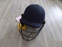 Brand new - MASURI ORIGINAL SERIES MARK II TEST STEEL SENIOR CRICKET BATTING HELMET (NAVY)