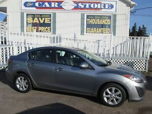 2011 Mazda MAZDA3 GS!! SUNROOF!! HEATED LEATHER!! 5 SPEED STICK!