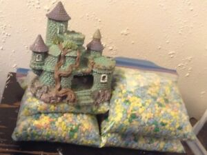 Castle and gravel $10.00