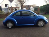 VW BEETLE 2.0 STUNNING CLEAN CAR WITH 3 MONTHS MOT ALLOY WHEELS WITH ALMOST NEW TYRES WE CAN DELIVER