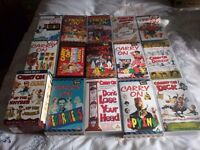 23 Collectable Carry On Films plus a box set. Videos can be transferred onto DVD.