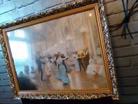 "beautiful picture of dancers, romantic and captivating. 30""x 23"". Stunning."