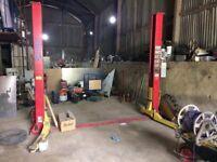 3 phase 4 tonne 2 post lift