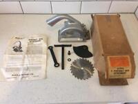 Black & Decker D7876 portable saw attachment with original box