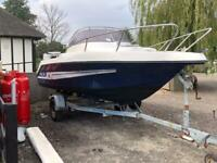 MG Mazury 17ft boat, trailer and outboard