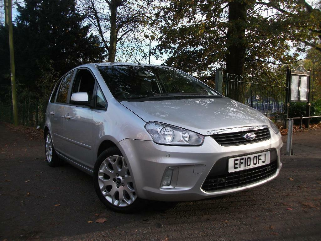 Ford C Max 1 6tdci Zetec 110 5dr Dpf Face Lift Model Finance Available Silver 2010