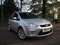 FORD C-MAX 1.6TDCi Zetec 110 5dr [DPF] += FACE LIFT MODEL FINANCE AVAILABLE (silver) 2010