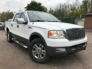 2005 Ford F-150 Accident-Free XLT Crew Cab 4X4  Running Boards