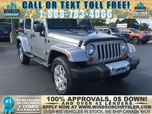 2013 JEEP WRANGLER UNLIMITED - WE FINANCE GOOD AND BAD CREDIT