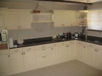 Kitchen plus appliances plus granite worktops