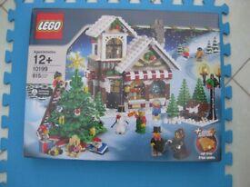 Lego - 10199 Winter Toy Shop - Brand New Sealed Box Retired