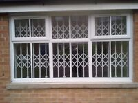 sliding retractable gates nearly new ,factory clearance. (or new made to measure )