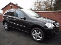 2007 mercedes ml 280 edition s 4 matic{fsh,finance and warranty ava,93k,excellent jeep}