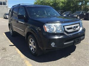 2011 Honda Pilot TOURING / 8 PASS WITH NAVI & DVD / WE APPROVE E