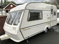 ABBEY GTS 214/ 2 BERTH FULL AWNING, LIGHT TO TOW 14FT.