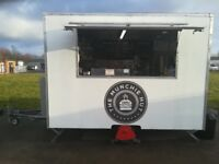 Fully Fitted Catering Trailer and Pitch in busy industrial estate for sale - £20k ONO